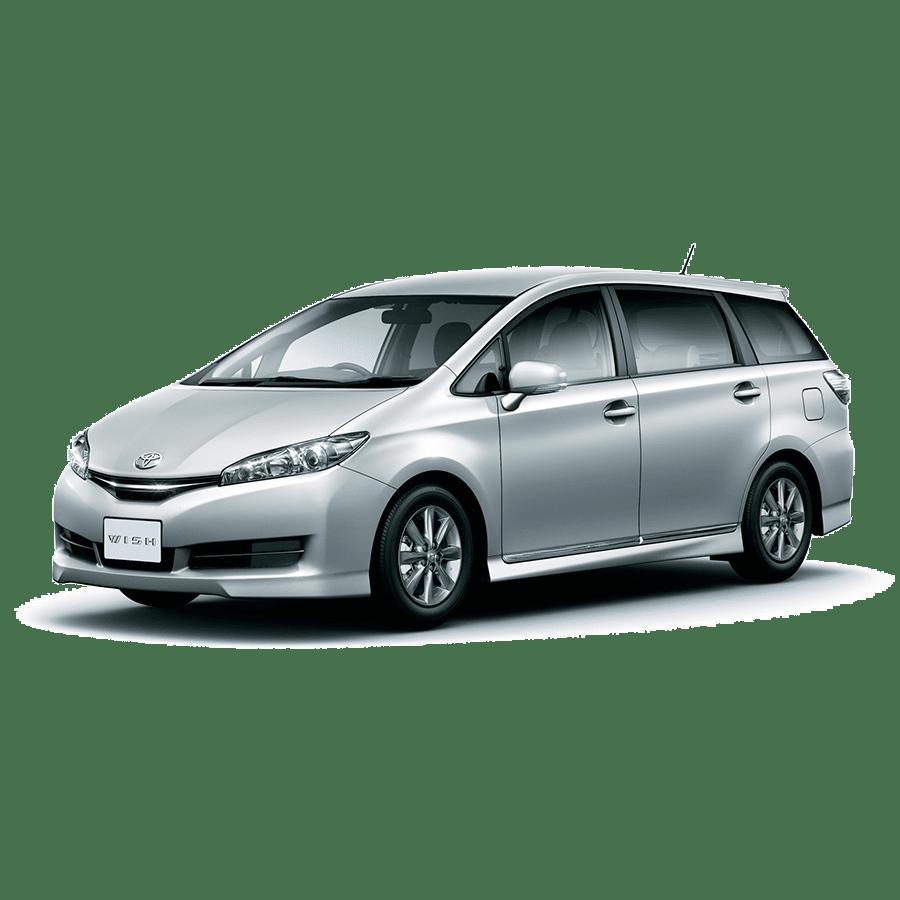 Выкуп аварийного Toyota Wish